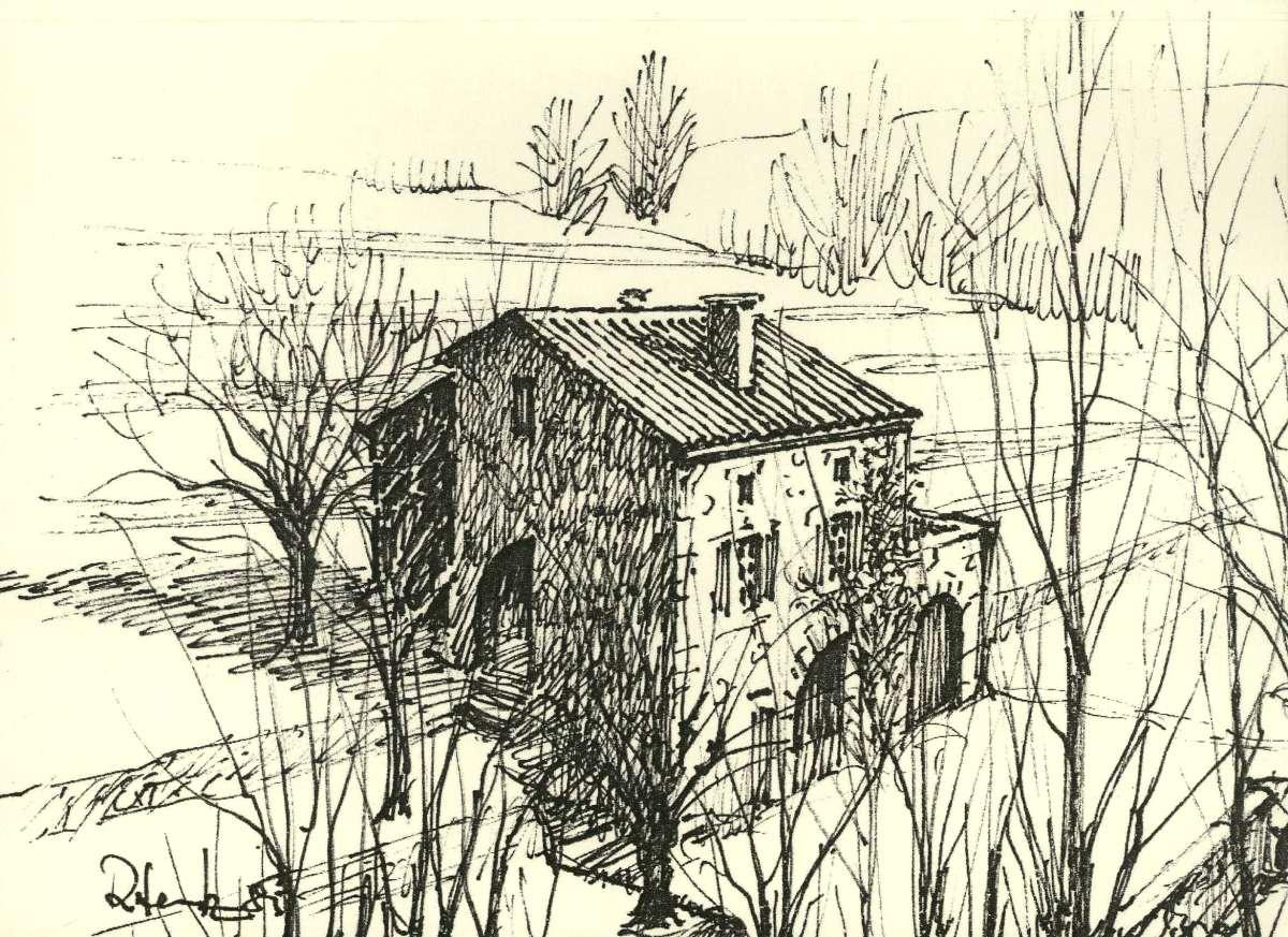 Dessin maison mini la maison du peintre - Dessins maison ...